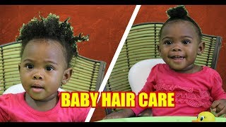 Baby Hair Care | Easy Tear Free Hairstyle