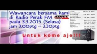 Wawancara Timb Pengarah Pengurusan Latihan ADTEC Taiping di Perak FM