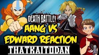 Aang vs Edward Death Battle Reaction (A:TLA vs FMA)