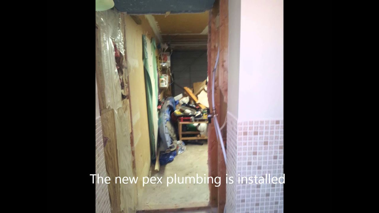 One Piece Shower Install - YouTube