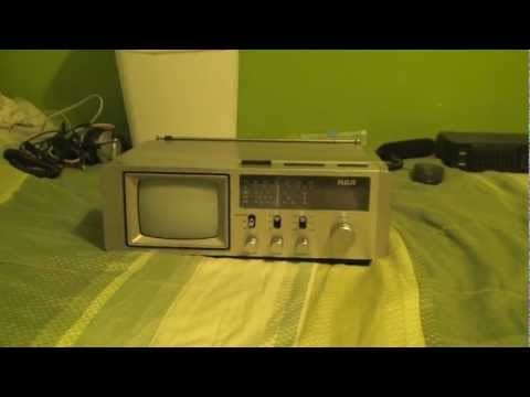 RCA Portable TV/Radio/Clock