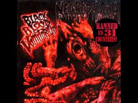 Necrophagia - Black Blood Vomitorium (Full EP) 10'' picture disc vinyl thumb