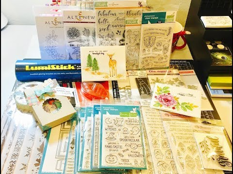September Cardmaking Haul~MFT, Lawn Fawn, Simon Says Stamp, Altenew