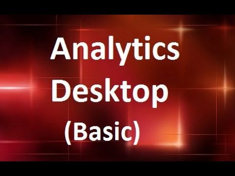 MicroStrategy - Analytics Desktop Basic - Online Training  by MicroRooster