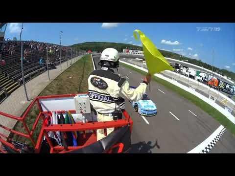 NASCAR Pinty's Series 2017  Riverside International Speedway  Multiple Crash