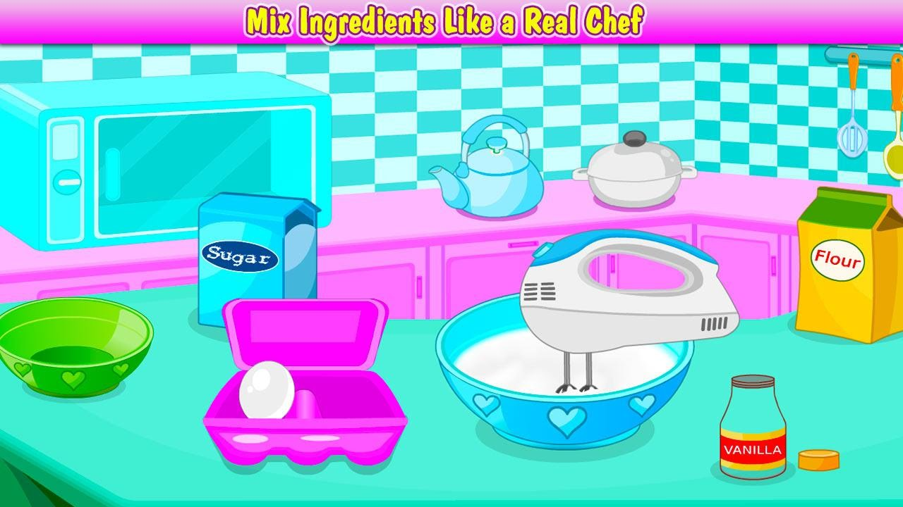 Bake Cupcakes - Excellent an easy Cooking Games - Cooking is fun and ...