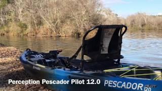 Yak Reviews: Perception Pescador Pilot 12.0 Pedal Kayak