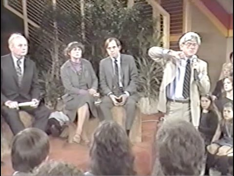 John Holt on The Phil Donahue Show discussing homeschooling 1981