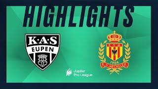 KAS Eupen – KV Mechelen hoogtepunten