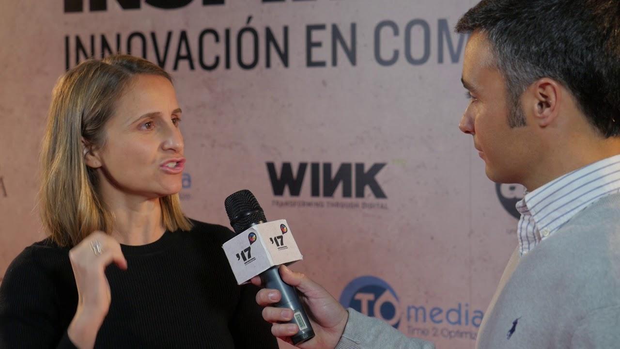 Festival  Inspirational 2017: Entrevista a  Lupina Iturriaga, Fintonic