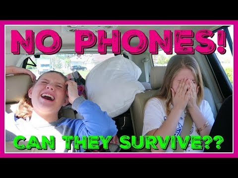 NO PHONE CHALLENGE    WILL THEY SURVIVE WITHOUT THEIR PHONES?   