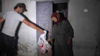 Türk Kızılayı Cerablus halkını bayramda yalnız bırakmadı