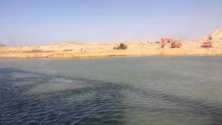 Suez Canal new: the first exclusive video of the intimidation, Tariq ibn Ziyad Baldferssoar