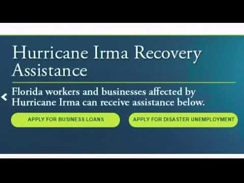 Can workers get unemployment for time off for Irma?