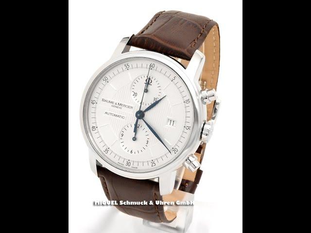 Baume & Mercier Classima Automatik Chronograph Ref. MOA08692 (7775)