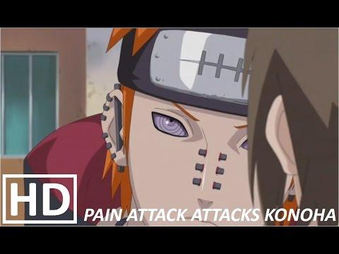 Naruto Shippuuden - Pain Attacks Konoha