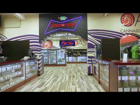 Oasis Cannabis South Store Tour (Evans and Monoco) Denver Dispesary