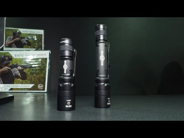 Surefire EDCL1-T and EDCL2-T with Steve Fisher at SHOT Show 2018