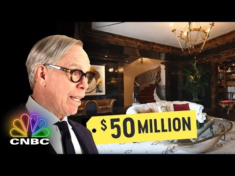 Go Inside Tommy Hilfiger's $50 Million Penthouse | Secret Lives Of The Super Rich | CNBC Prime