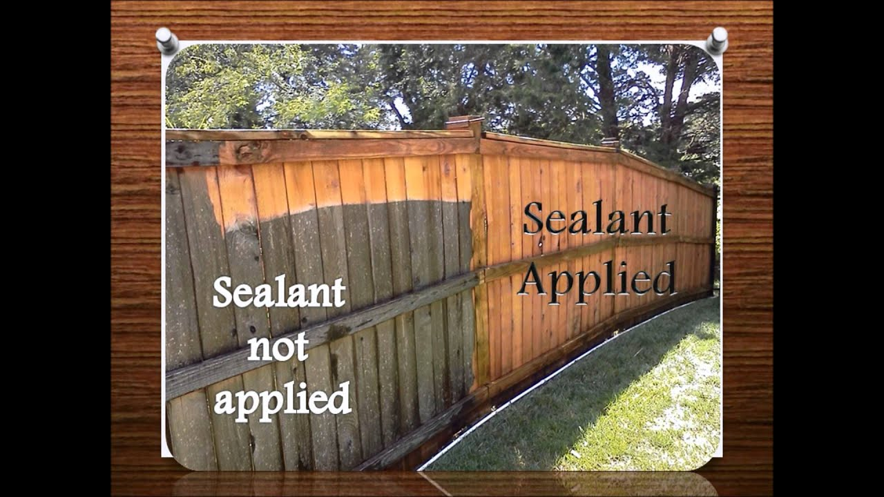 Fence and deck sealant youtube fence and deck sealant baanklon Gallery