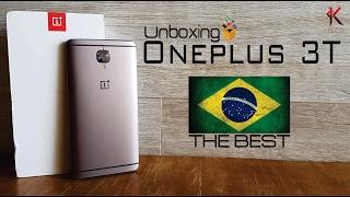 Unboxing Oneplus 3T - Simplesmente o melhor!