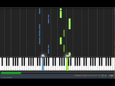 Usher - DJ Got Us Fallin' In Love ft. Pitbull (piano version) Synthesia
