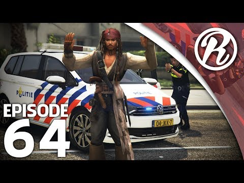 [GTA5] NEDERLANDSE POLITIE VS JACK SPARROW!! - Royalistiq | Politie en boefje #64