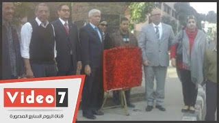 سفارة فنزويلا بالقاهرة تنظم وقفة رمزية فى الذكرى 186 لوفاة سيمون بوليفار