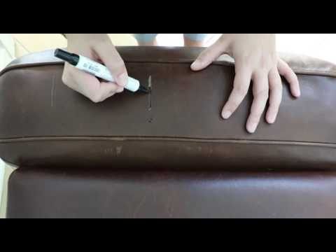 Restoring Leather Sofa Queen Air Dream Sleeper How To Restore Furniture Video Youtube