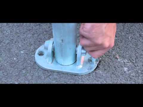 Key Lock Parking Post - Barriers - TheWorkplaceDepot