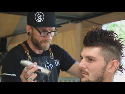 Portable barbershop lets Moose Jaw man give back