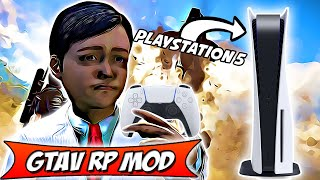 TOM ESCOBAR LE PREMIER GAMIN A AVOIR LA PLAYSTATION 5  ! GTAV RP MOD #64