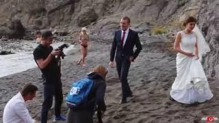 Свадьба на Царском пляже. Новый Свет. Крым