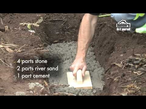 Builders DIY: Designing your Garden - Building a Retaining Wall & Seat