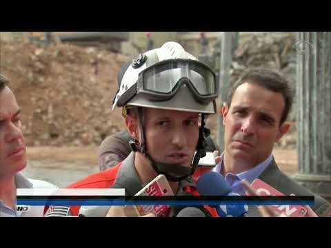 SP: Bombeiros Encontram Corpo Em Escombros De Prédio