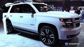 2018 Chevrolet Tahoe RST Performance Edition - Exterior Interior Walkaround -2018 Montreal Auto Show