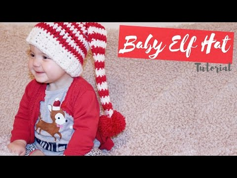 0c4a36e64 CROCHET: Baby Elf Hat | Bella Coco - YouTube