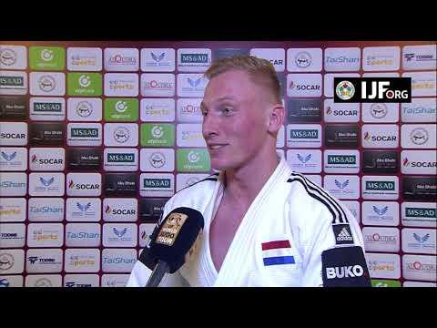 Frank DE WIT (NED) Winner 81 Abu Dhabi GS 17