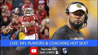 NFL Rumors, Coaching Hot Seat, Kyler Murray To NFL, Eric Berry And Bucs & Jets Coaching Candidates