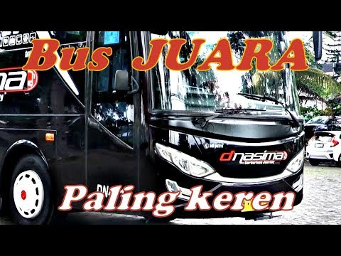 Keren,,,, Bus Pariwisata Mewah dan Terkenal asal Kota Semarang,,,D'NASIMA