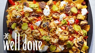 How to Make Cheeseburger Nachos | Recipe | Well Done