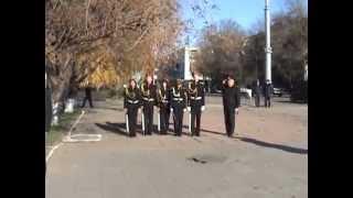 Почётный караул средней школы №4 г.Измаил