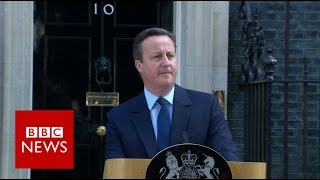 Brexit: David Cameron resigns as UK votes to leave - BBC News thumbnail