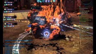 Bastion first boss fight Tera online CBT1 Gameplay