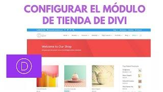 DIVI: Configurar el Módulo de Tienda de WooCommerce