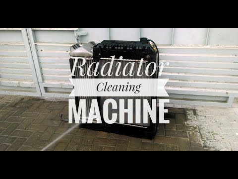 Radiator Cleaning Machine in hindi | How to clean radiator at home | Basic Knowledge