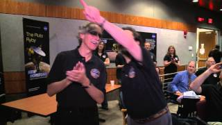 New Horizons Reaction To First Pluto Images