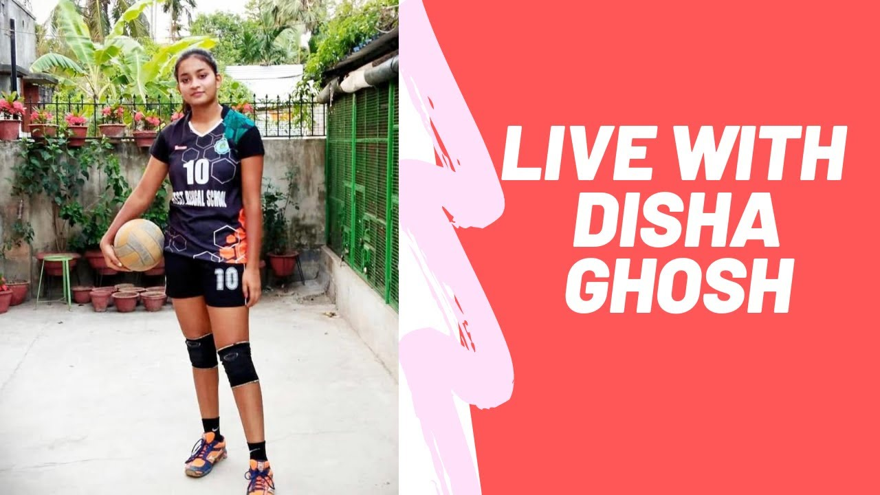 Disha Ghosh Live Interview India S New Volleyball Crush India Volleyball Player Youtube