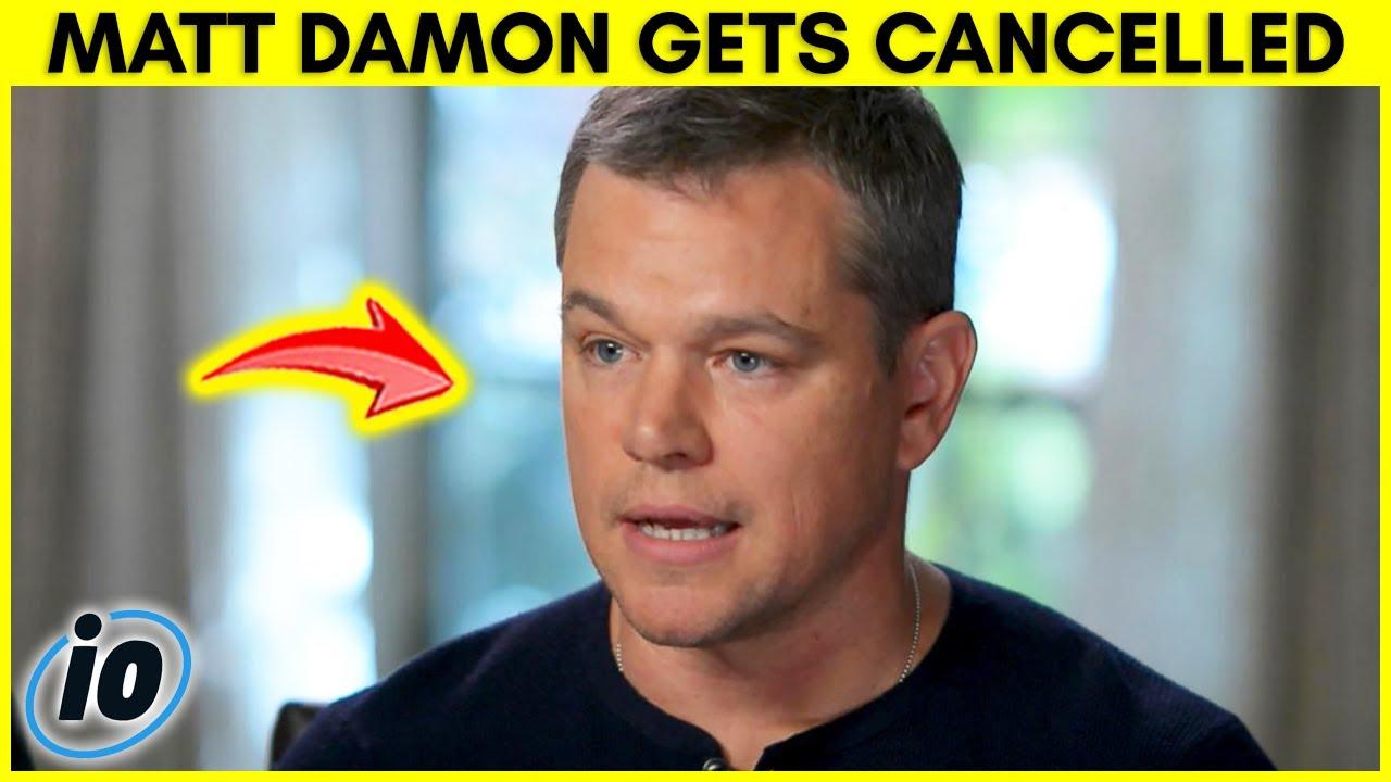 Matt Damon Gets Cancelled For Homophobic Slur