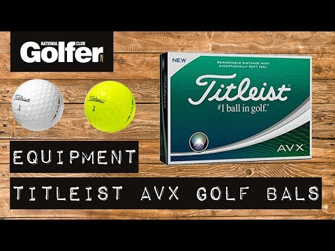 Titleist AVX Golf Ball Review | Mid handicap testing